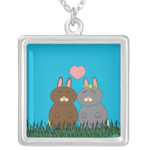Some Bunny Loves You Necklace