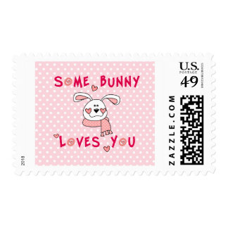 Some Bunny Loves You Stamp