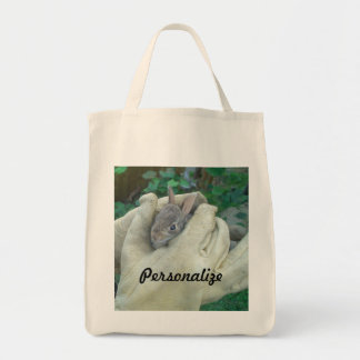 Some Bunny Tote Grocery Tote Bag