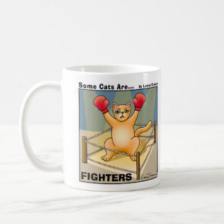Some Cats Are Fighters  Mug