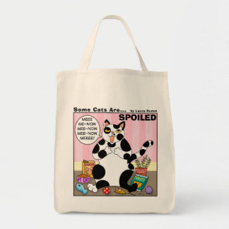 Some Cats Are Spoiled Tote Canvas Bags