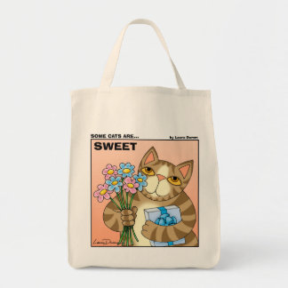 Some Cats Are Sweet Toteo Tote Bag