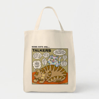 Some Cats Are Talkers Tote