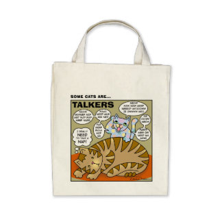 Some Cats Are Talkers Tote Tote Bag