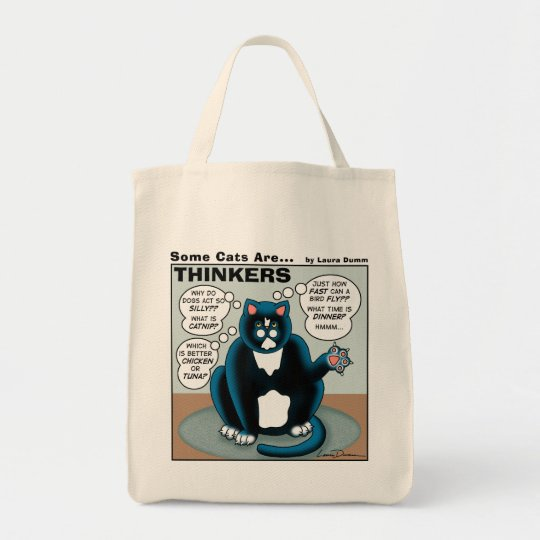 Some Cats Are Thinkers Tote
