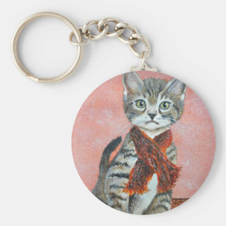 Some Cats, by Jim Ott Keychain