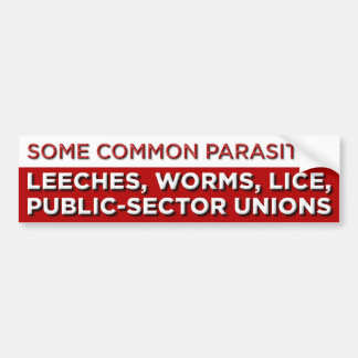 Some Common Parasites Bumper Sticker