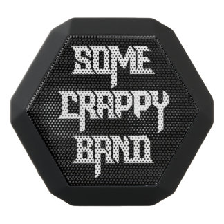 Some Crappy Band Black Bluetooth Speaker