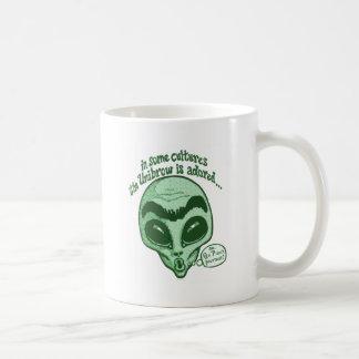 Some Cultures Adore Unibrow Coffee Mug