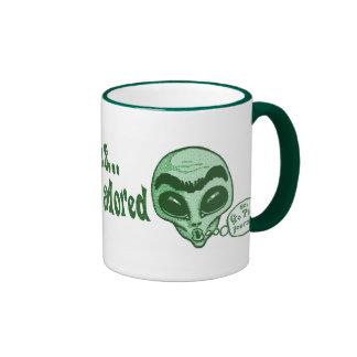 Some Cultures Adore Unibrow Ringer Mug