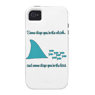 Some Days You're the Shark T-shirt iPhone 4 Case