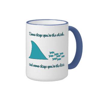 Some Days You're the Shark T-shirt Coffee Mugs