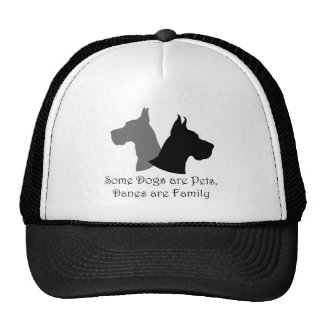 Some Dogs Are Pets, Danes Are Family Trucker Hats