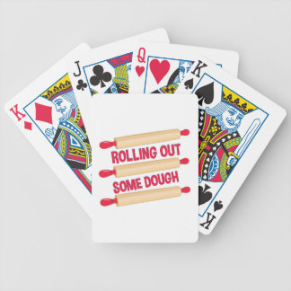 Some Dough Bicycle Playing Cards