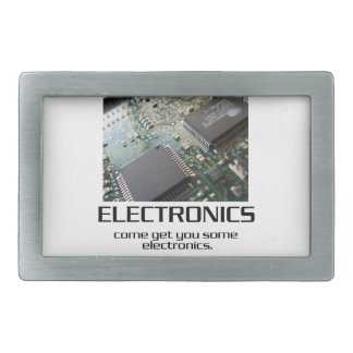 Some Electronics. Rectangular Belt Buckles