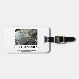 Some Electronics. Tag For Bags