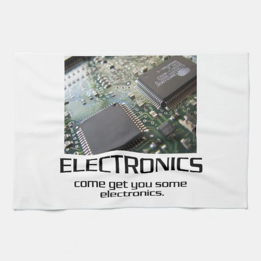 Some Electronics. Towels