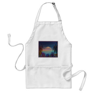 Some Exotic Beach Adult Apron
