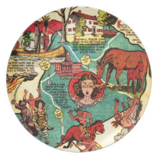 Some Facts About Kentucky Party Plate