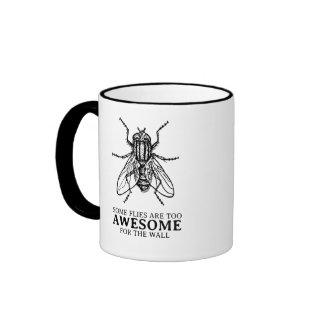 Some Flies Ringer Mug
