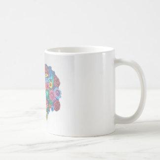 some flowers coffee mug