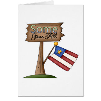 Some Gave All Card