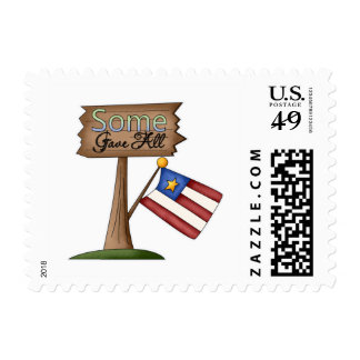 Some Gave All Stamp