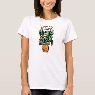 Some Girl Kicks Your Butt Basketball Shirt