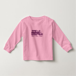 Some Girls Chase Boys I Pass Them Cycling Toddler T-shirt