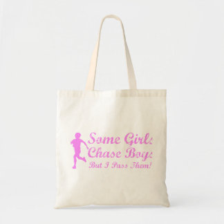 Some Girls Chase Boys I Pass Them Girl Jogger Tote Bag