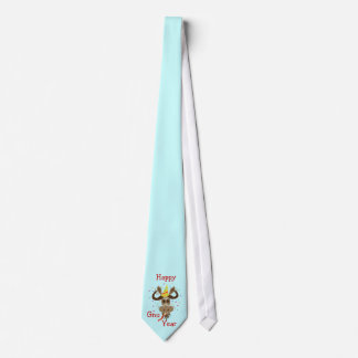 Some Gnu Stuff_Happy Gnu Year Neck Tie