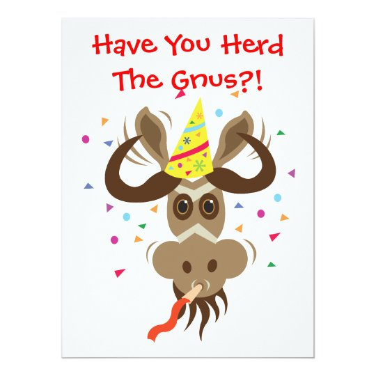 Some Gnu Stuff_Have You Herd The Gnus?! Card