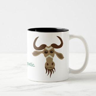 Some Gnu Stuff_It's genetic! (guys) Two-Tone Coffee Mug