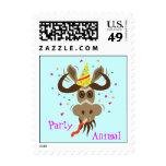 Some Gnu Stuff_Party Animal postage