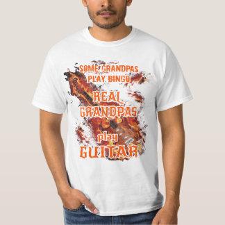 Some grandpas play bingo,real grandpas play guitar T-Shirt