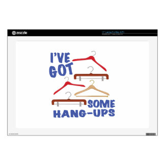 """Some Hang Ups Decals For 17"""" Laptops"""