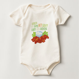 Some Hot Stuff Baby Bodysuit