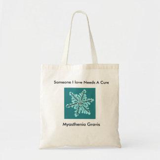 Some I Love Needs A Cure- Myasthenia Gravis Tote Bag