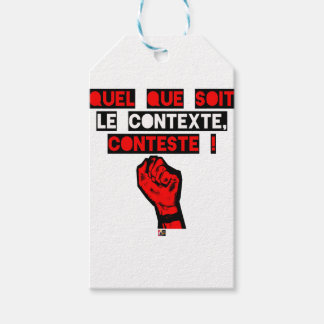 Some is the CONTEXT DISPUTES! - Word games Gift Tags
