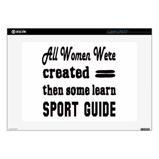 "Some Learn Sport Guide. 15"" Laptop Skins"