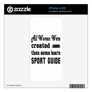 Some Learn Sport Guide. Skin For iPhone 4S