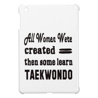Some learn Taekwondo. Cover For The iPad Mini
