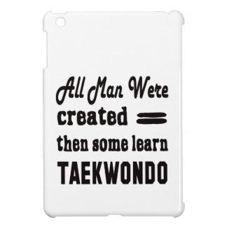 Some learn Taekwondo. iPad Mini Cover