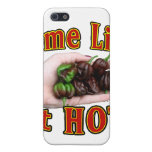 Some Like It Hot Chocolate Habanero Pepper Pile iPhone 5 Cases