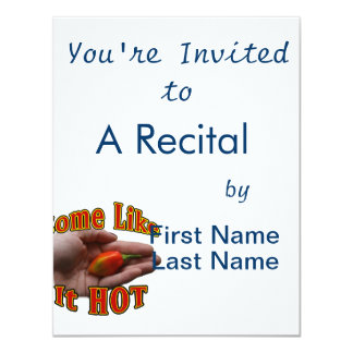 Some Like It Hot Hand One Habanero Pepper Card
