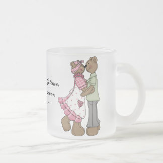 Some Love Frosted Glass Coffee Mug
