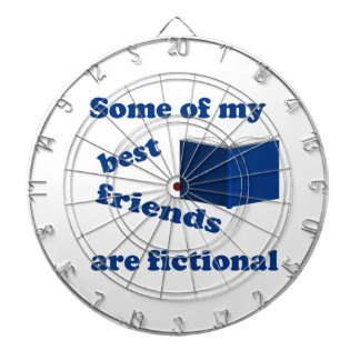 Some of my Best Friends are Fictional Dartboard