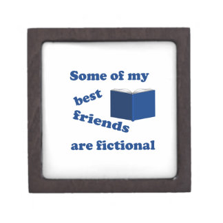 Some of my Best Friends are Fictional Jewelry Box