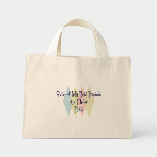 Some of My Best Friends Are Glider Pilots Mini Tote Bag