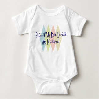 Some of My Best Friends Are Librarians Baby Bodysuit